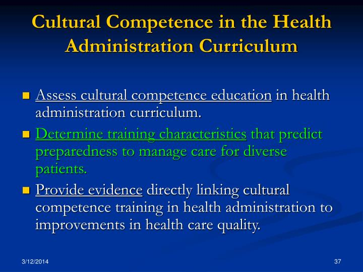 cultrual competence