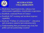 multifaceted collaboration