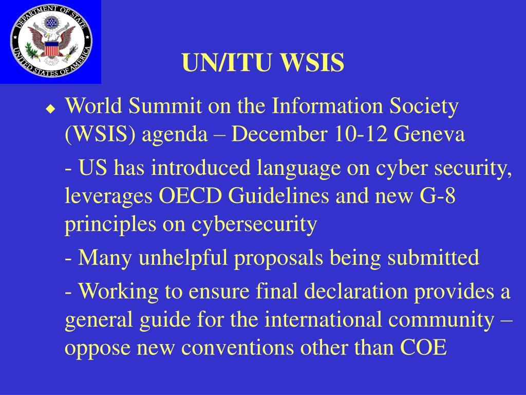 UN/ITU WSIS