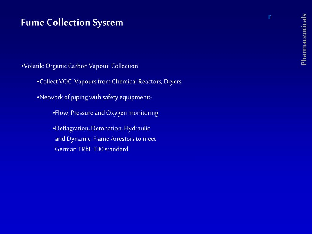 Fume Collection System