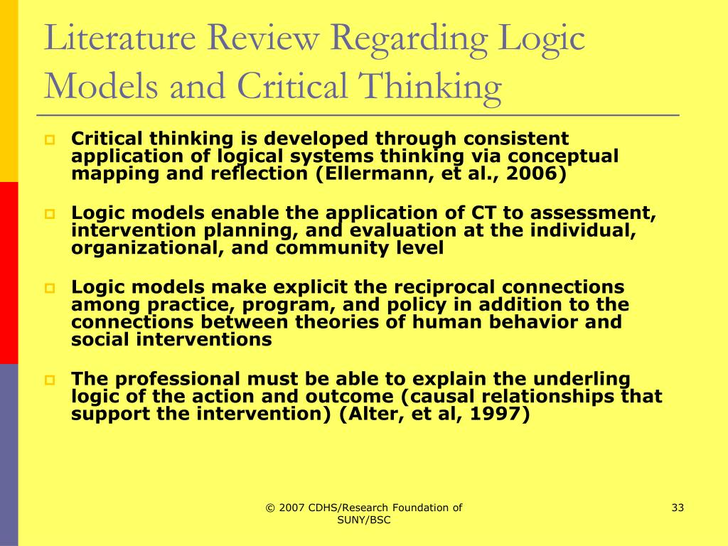 critical thinking in nursing education and practice as defined in the literature Essential to the practice of nursing (brunt, 2005)  and nursing education  literature less has been  literature review of critical thinking the early  studies of critical thinking were reported in the edu-  described critical thinking  and the.