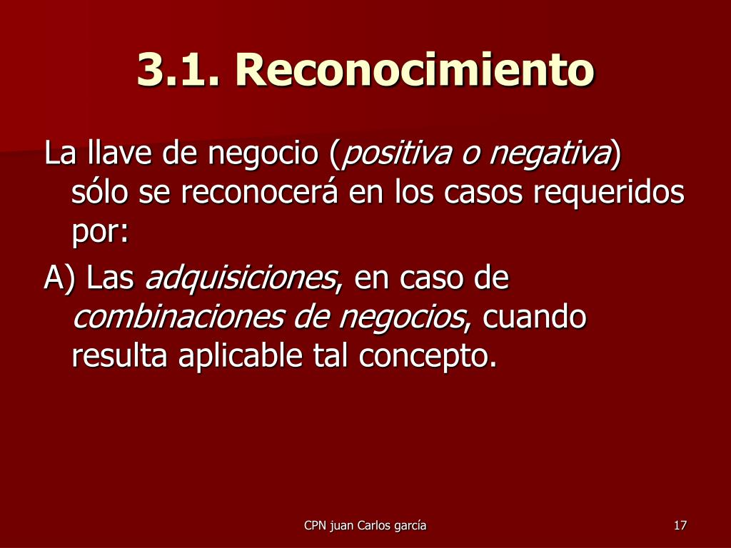 3.1. Reconocimiento