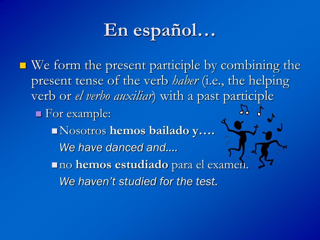 En español…