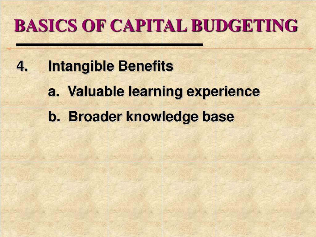 capital budgeting for the multinational corporation Capital budgeting for the us-based multinational corporations : an assessement of theory and practice.