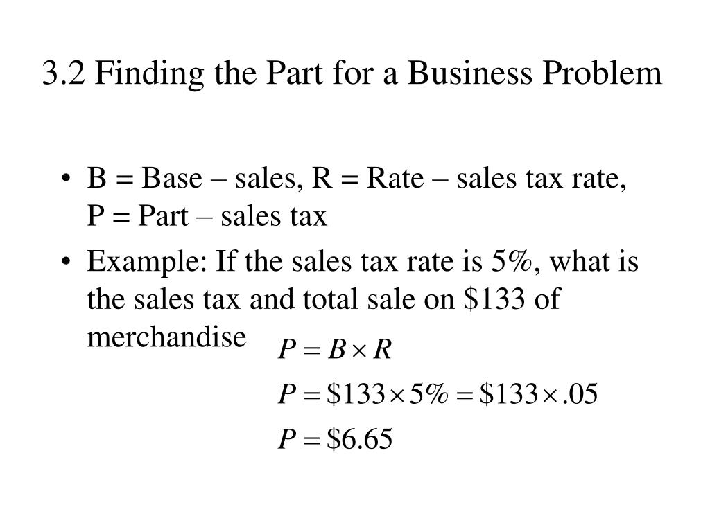 3.2 Finding the Part for a Business Problem