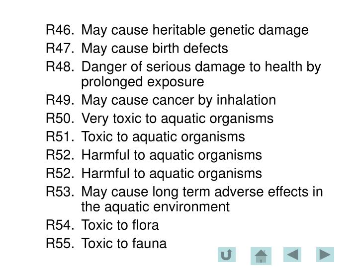R46.	May cause heritable genetic damage