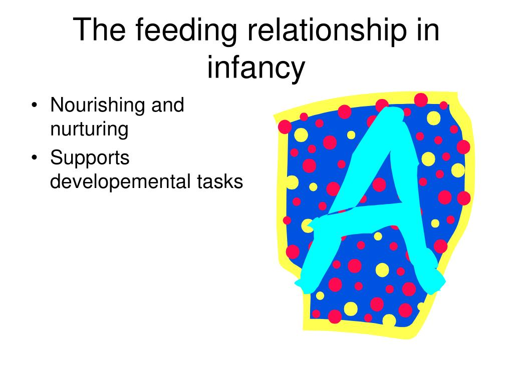 The feeding relationship in infancy