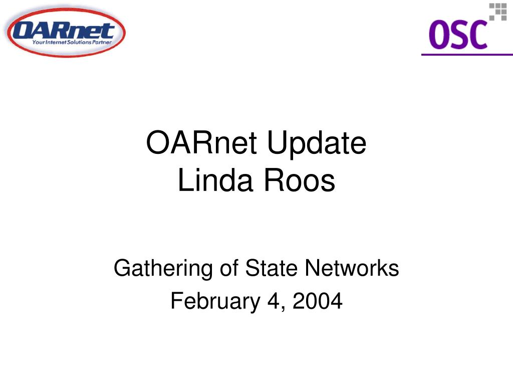 OARnet Update