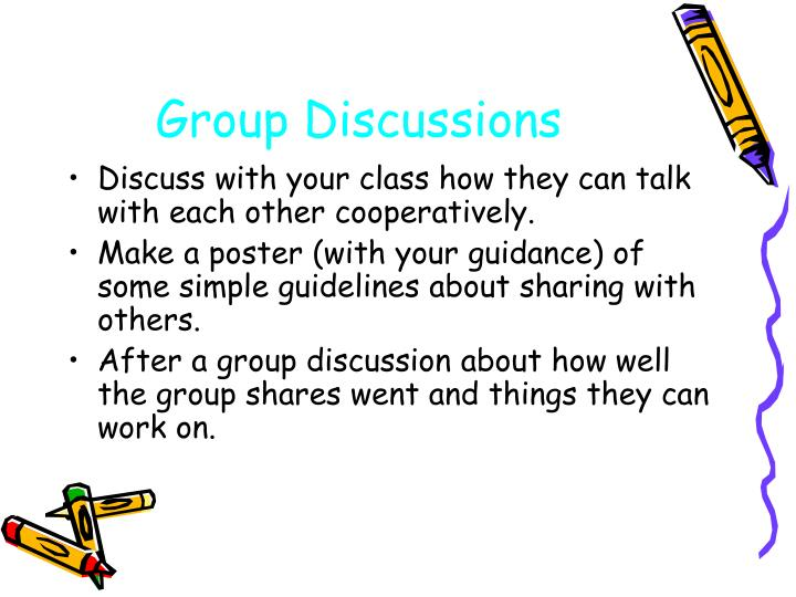 Group Discussions