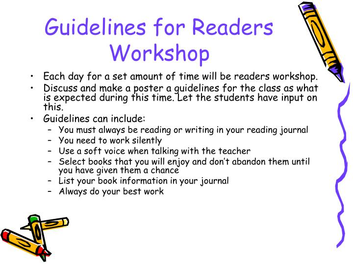 Guidelines for Readers Workshop