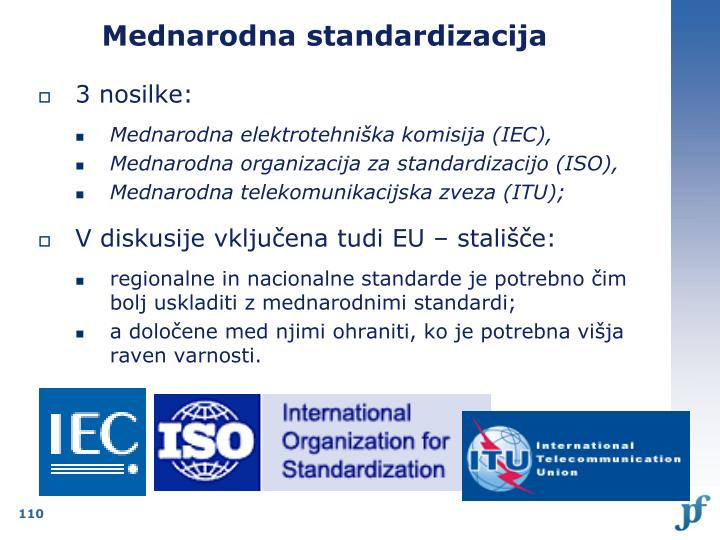 Mednarodna standardizacija