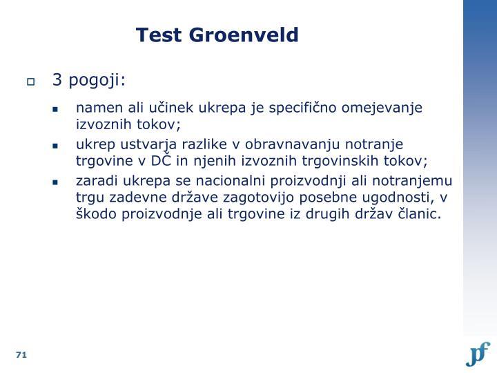 Test Groenveld