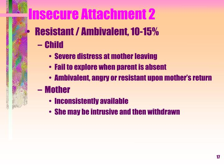 Insecure Attachment