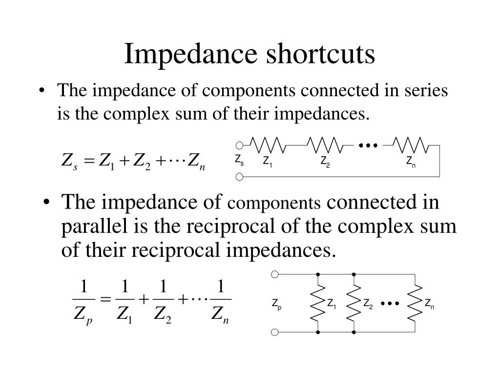 Impedance shortcuts