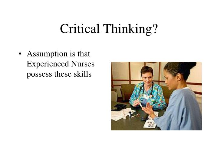 teaching critical thinking powerpoint presentation Document presentation format: on-screen show (con't) does critical thinking involve critical analysis are critical thinking & problem solving the.