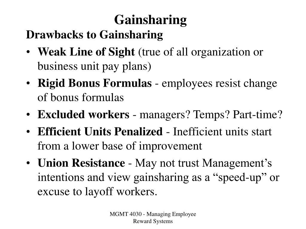 Gainsharing