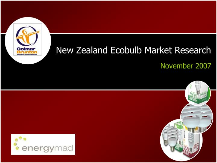 New zealand ecobulb market research