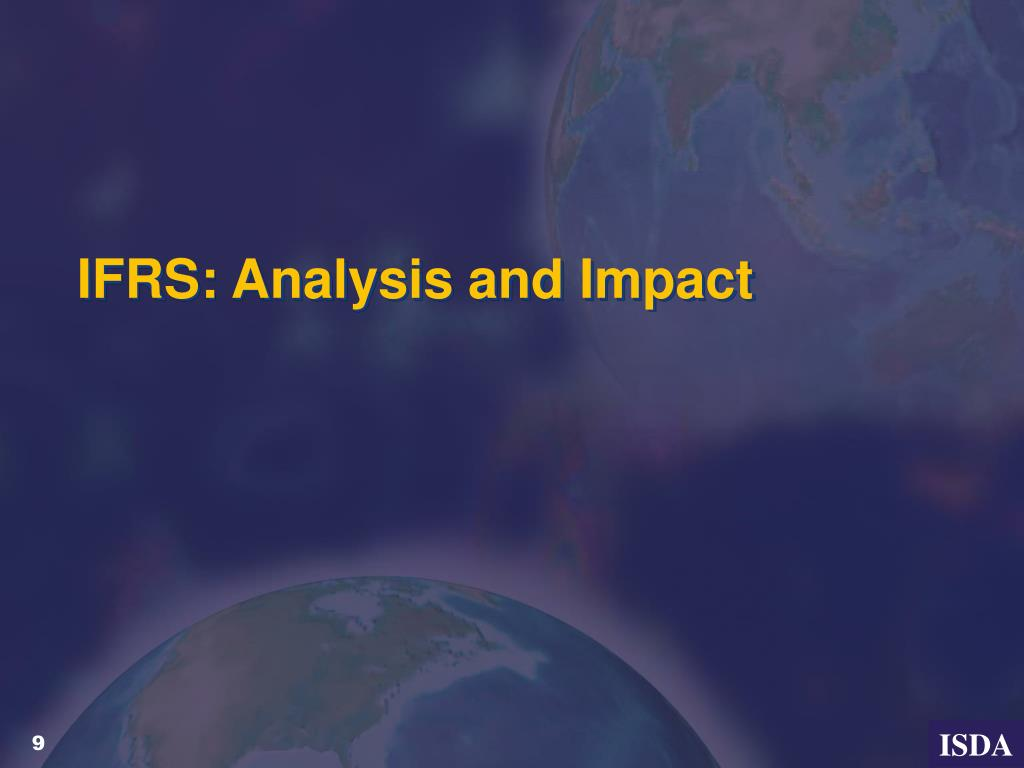 IFRS: Analysis and Impact