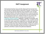 raft assignment