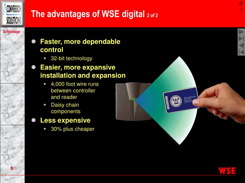 The advantages of WSE digital