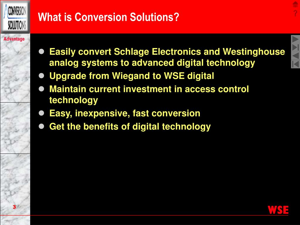 What is Conversion Solutions?