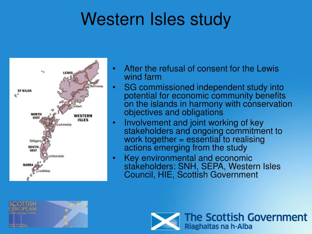 Western Isles study