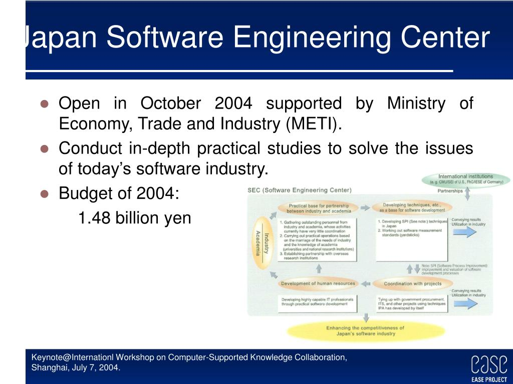 Japan Software Engineering Center