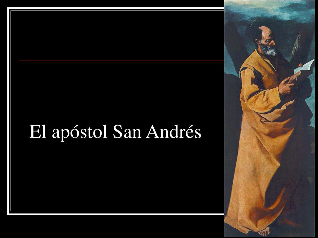 El apóstol San Andrés