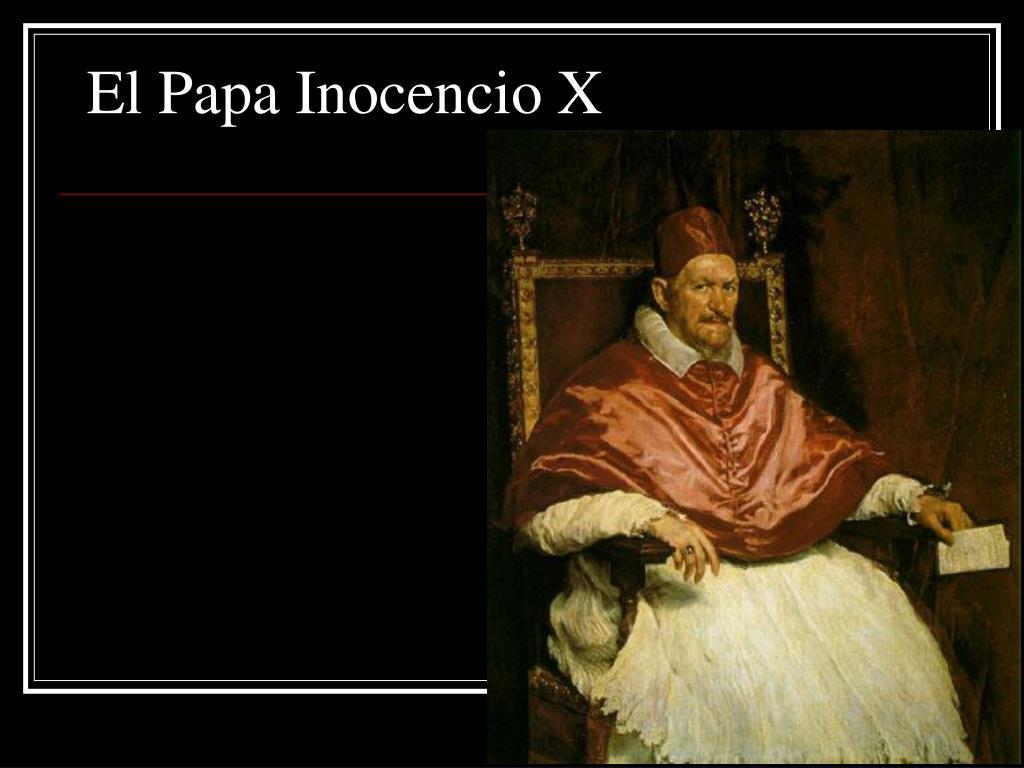 El Papa Inocencio X
