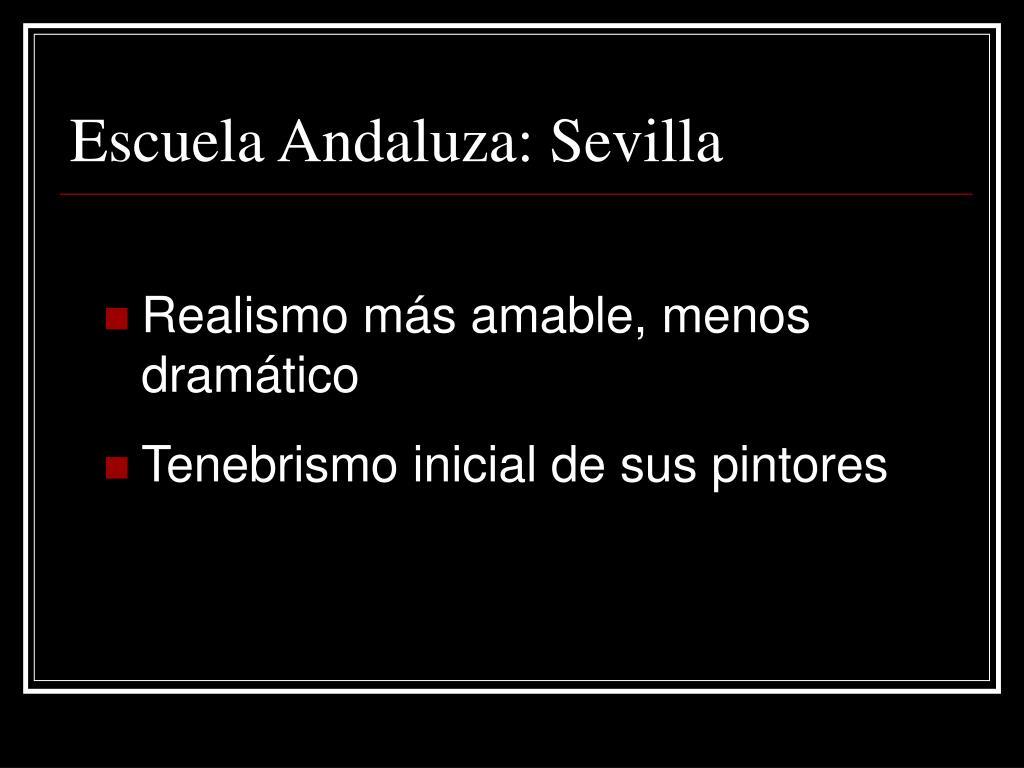 Escuela Andaluza: Sevilla