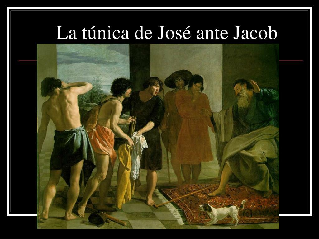 La túnica de José ante Jacob