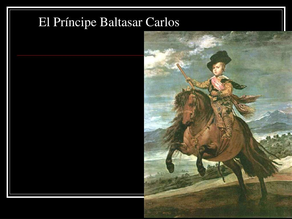 El Príncipe Baltasar Carlos