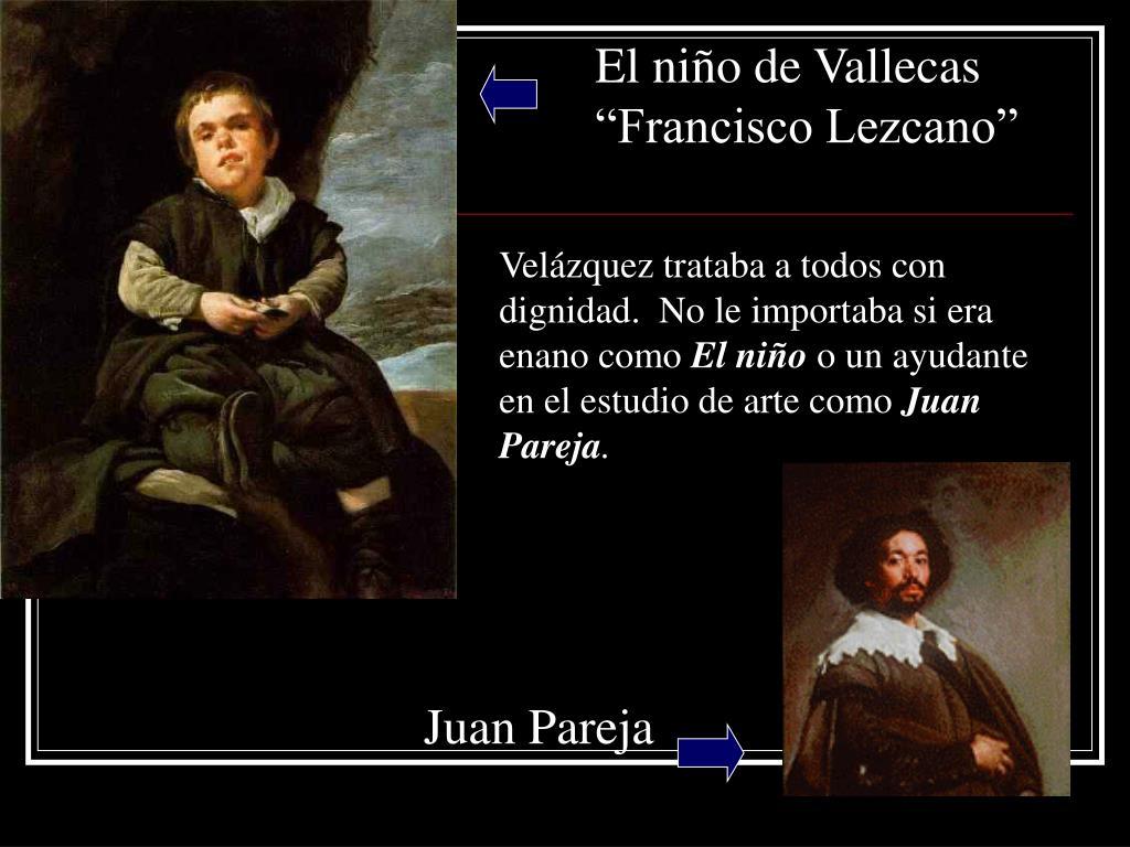 """El niño de Vallecas """"Francisco Lezcano"""""""