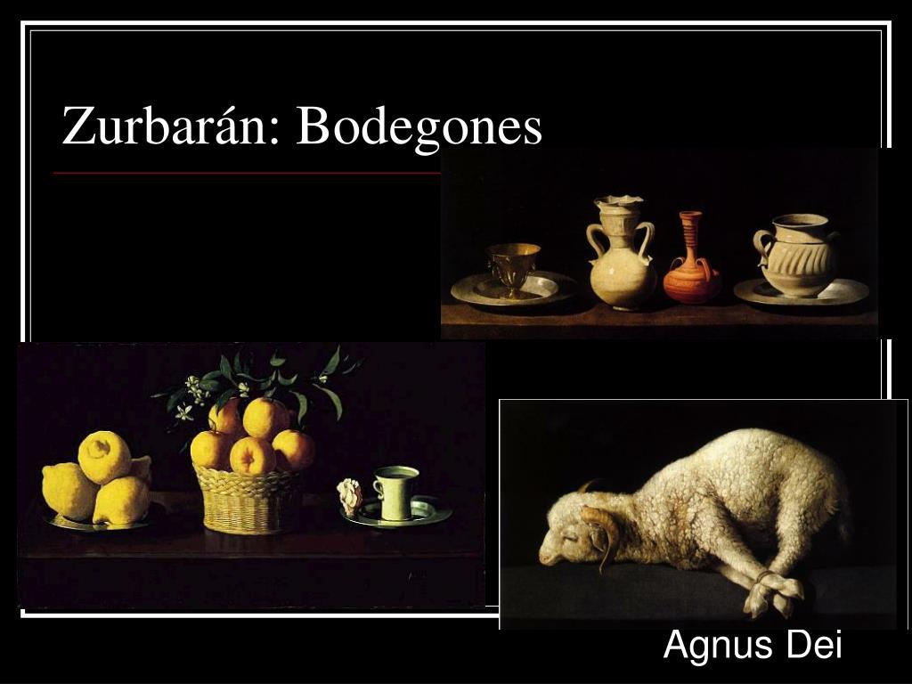 Zurbarán: Bodegones