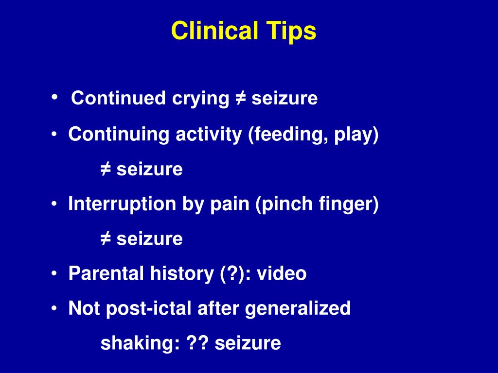 Clinical Tips