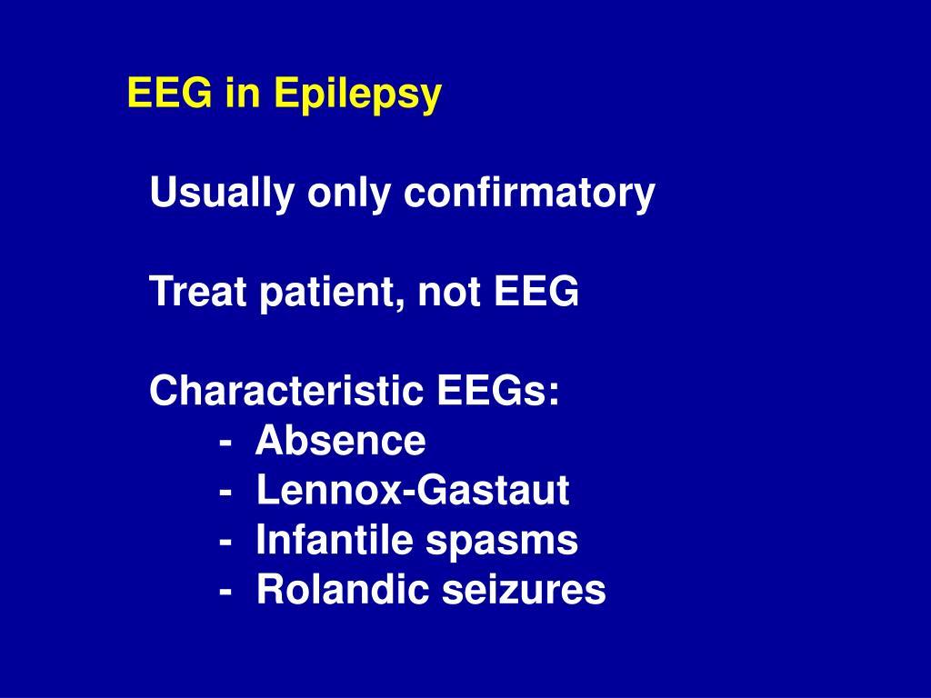 EEG in Epilepsy