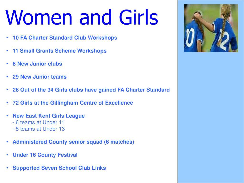 Women and Girls