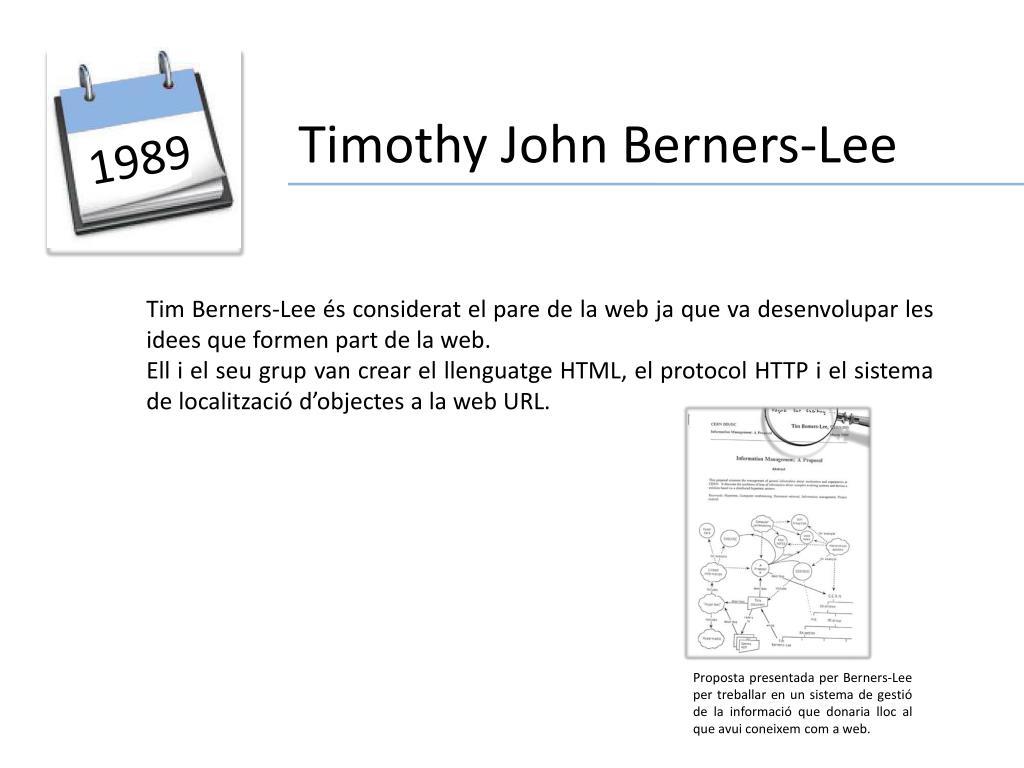 Timothy John Berners-Lee