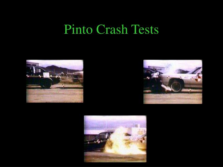 Pinto Crash Tests
