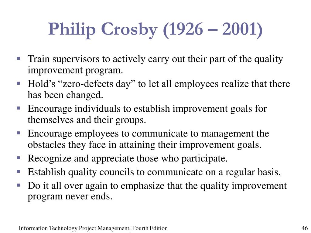 Philip Crosby (1926 – 2001)