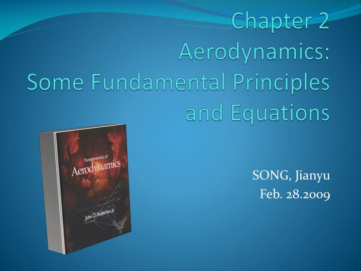 Chapter 2 aerodynamics some fundamental principles and equations