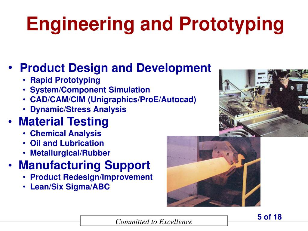 Engineering and Prototyping