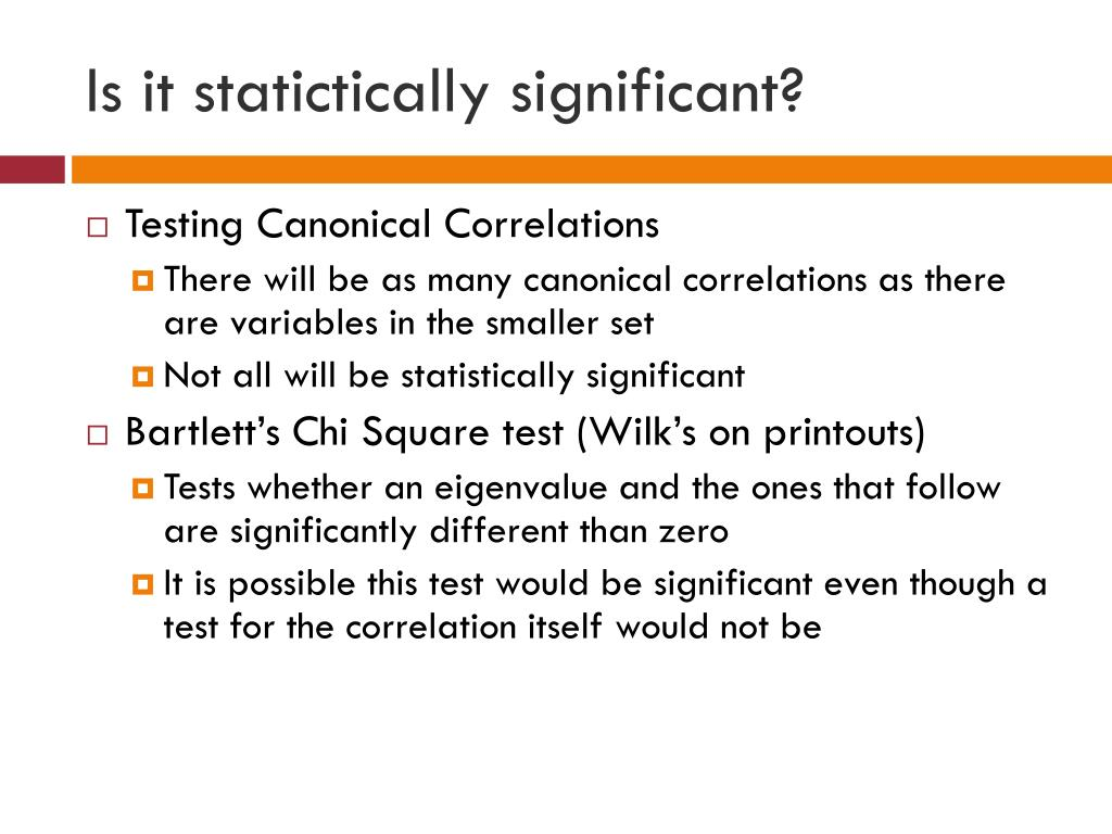 Is it statictically significant?