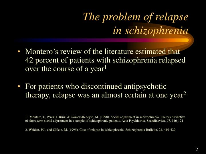 literature review on paranoid schizophrenia