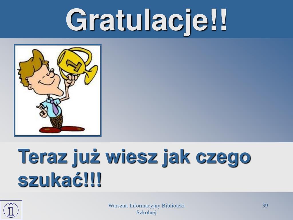 Gratulacje!!
