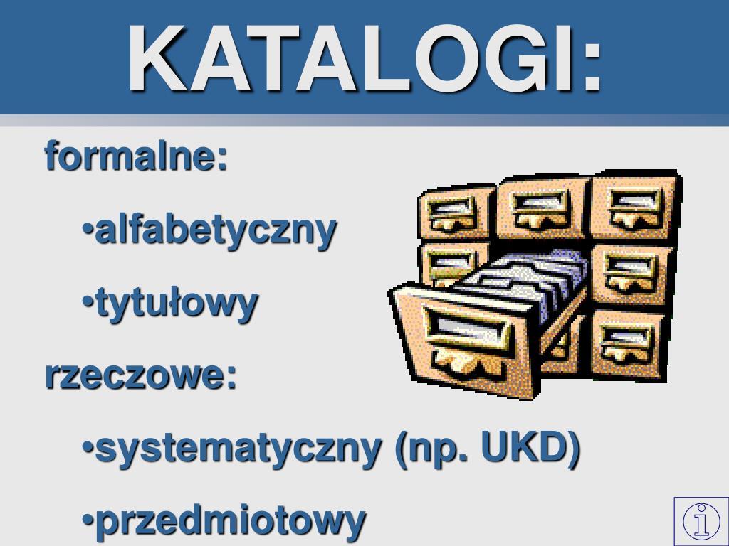 KATALOGI: