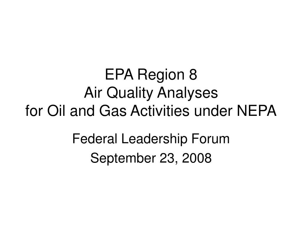 EPA Region 8