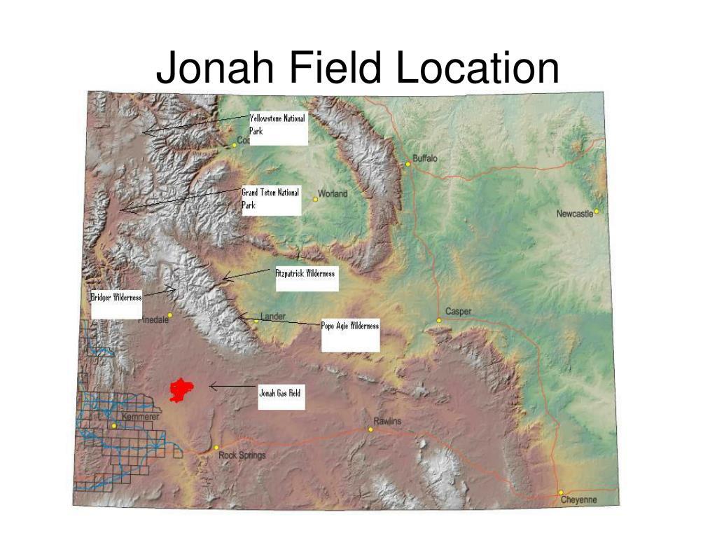 Jonah Field Location