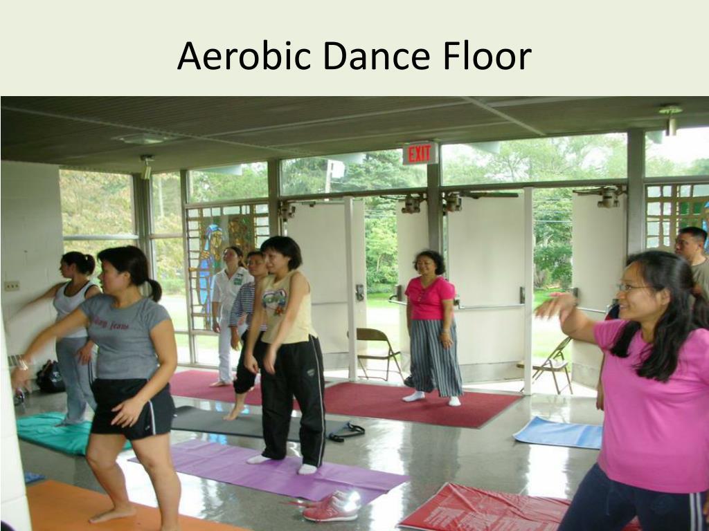 Aerobic Dance Floor