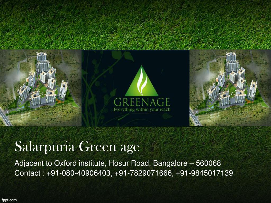 Salarpuria Green age